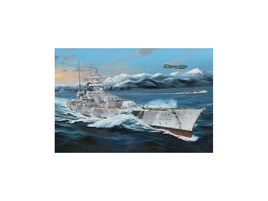TR03715 German Battleship Scharnhorst