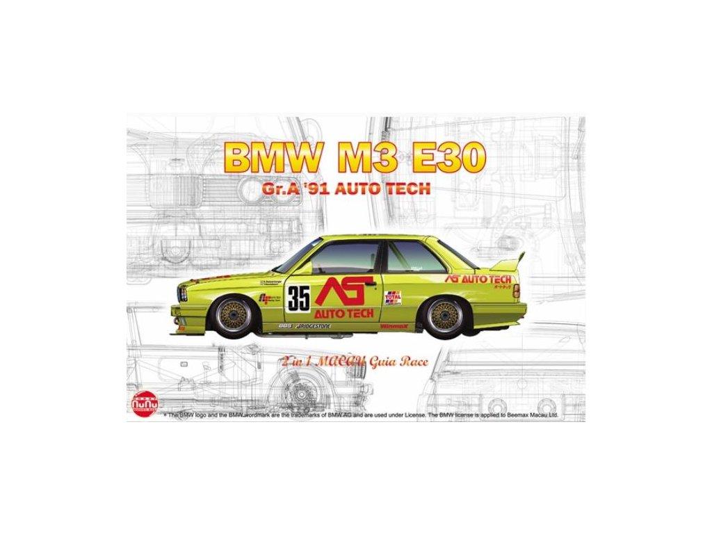 PN24014 Racing Series BMW M3 E30 Group A 1991 Auto Tech