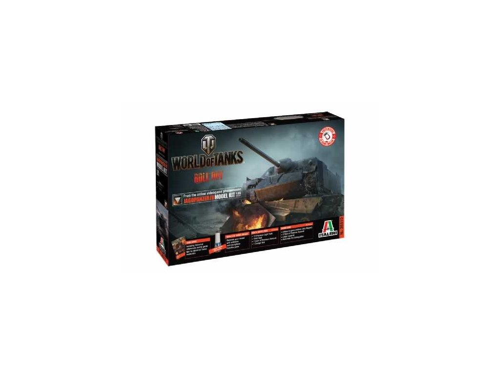 Model Kit World of Tanks 36510 - JAGDPANZER IV (1:35)