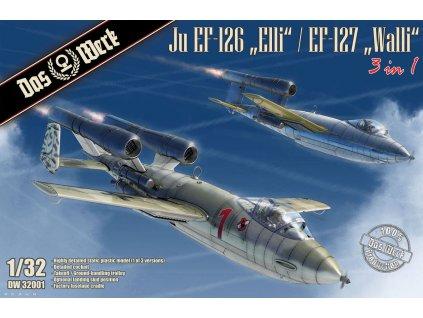 """1/32 Ju EF-126 """"Elli"""" / EF-127 Walli (3 in 1)"""