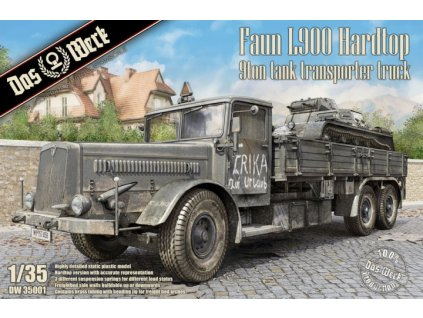 1/35 Faun L900 Hardtop 9ton Tank Transporter Truck
