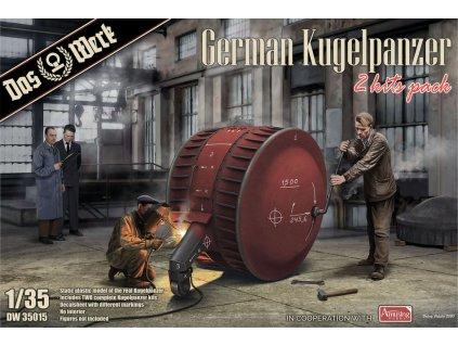 1/35 German Kugelpanzer (2 Kits Pack)