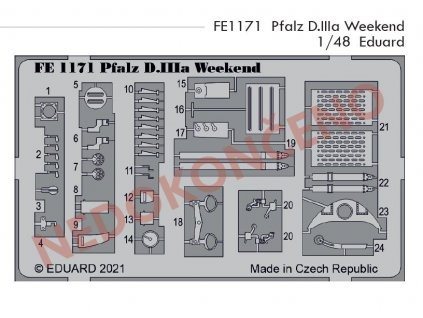 FE1171 Pfalz D.IIIa Weekend 1 48 Eduard
