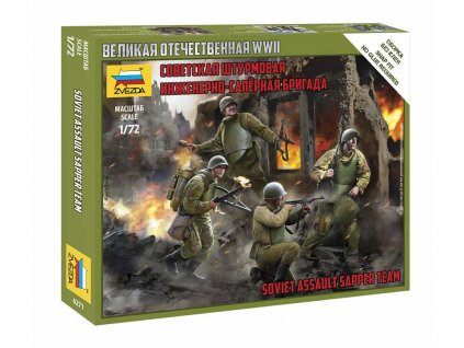 Wargames (WWII) figurky 6271 – Soviet Assault Group (1:72)