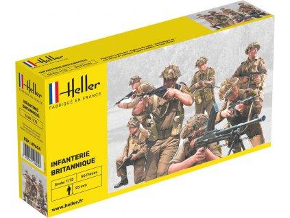 1/72 Infanterie Britannique