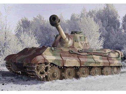 Model Kit tank 6900 - Kingtiger Late Production w/New Pattern Track s.Pz.Abt.506 Ardennes 1944 (1:35)