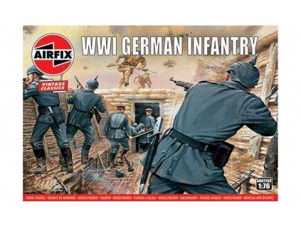 Classic Kit VINTAGE figurky A00726V - WW1 German Infantry (1:76)