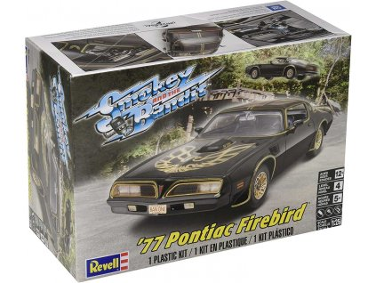 Plastic ModelKit MONOGRAM auto 4027 - Smokey and the Bandit™ '77 Pontiac® Firebird® (1:25)