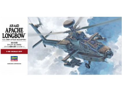 07223 U.S. Army Attack Helicopter AH 64D Apache Longbow