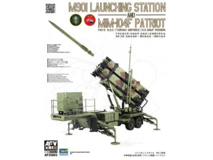AF35S93 M901 Launching Station and MIM 104F PATRIOT PAC 3 R.O.C. (Taiwan) Airforce US Army Version