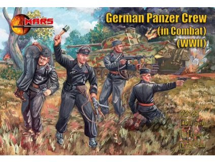 72122 WWII German Panzer Crew in Combat
