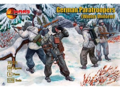 72121 German Paratroopers (Winter Uniform)