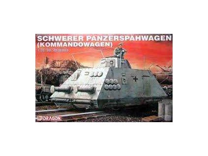 Model Kit military 6071 - SCHWERER PANZERSPAHWAGEN (KOMMANDOWAGEN) (1:35)