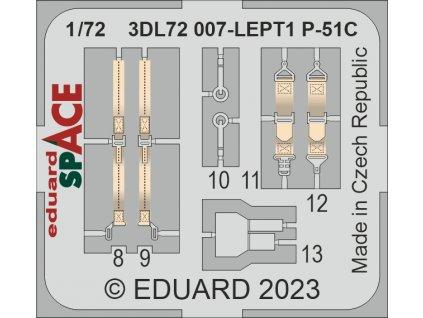 3DL48018 Mustang Mk.IV SPACE 1 48 Eduard