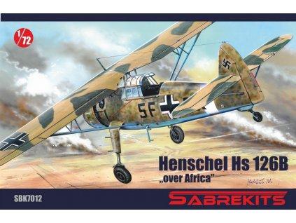 sbk7012 Henschel HS 126B over Africa
