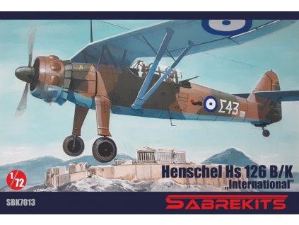 sbk7013 Henschel HS 126B K internacional