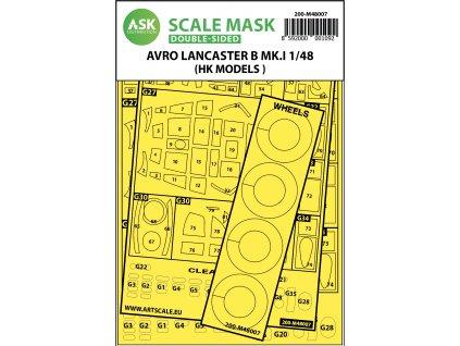 27482 200 m48007 avro lancaster mk.i double sided mask 01