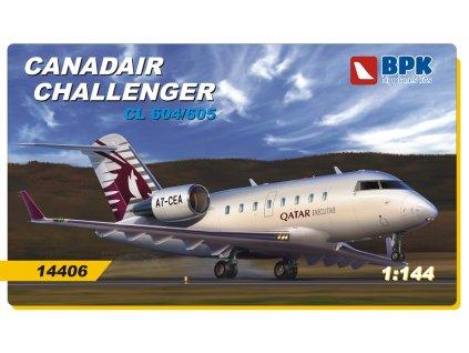 1/144 Canadair Challenger CL 604/605