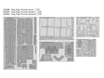 EDUBIG3594 King Tiger Porsche 1 35 Meng