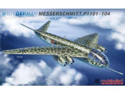 0005741 wwii german messerschmitt p1101 104 heavy two seat destroyer