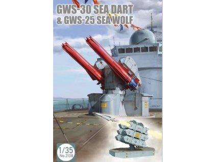 2138 GWS 30 Sea Dart & GWS 25 Sea Wolf