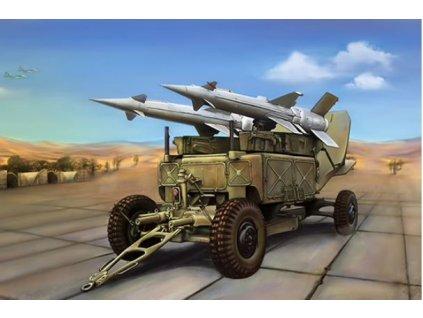 02354 Soviet 5P71 Launcher with 5V27 Missile Pechora (SA3B Goa)