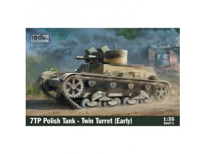 1/35 7TP Polish Tank -Twin Turret (Early Production)