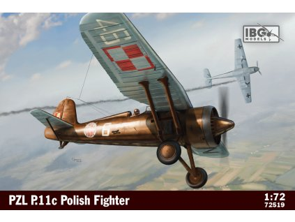 1/72 PZL P.11c Polish Fighter Plane