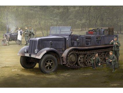 Sd.Kfz.8 DB9 Half Track Artillery Tractor 1
