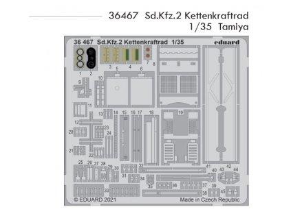 36467 Sd.Kfz.2 Kettenkraftrad 1 35 Tamiya
