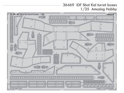 36469 IDF Shot Kal turret boxes 1 35 Amusing