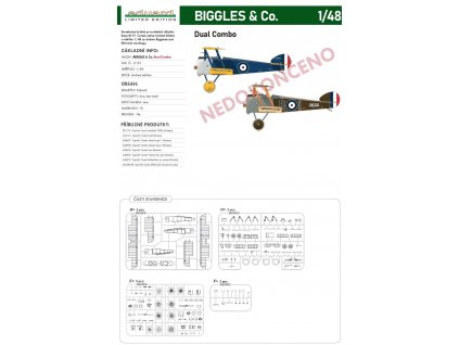 11151 Sopwith F.1 Camel BIGGLES & Co. Dual Combo (Limited edition) 1 48