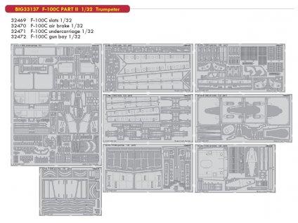 BIG33137 F 100C PART II 1 32 Trumpeter