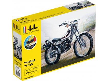 1/8 Yamaha TY 125 Bike - Starter Set