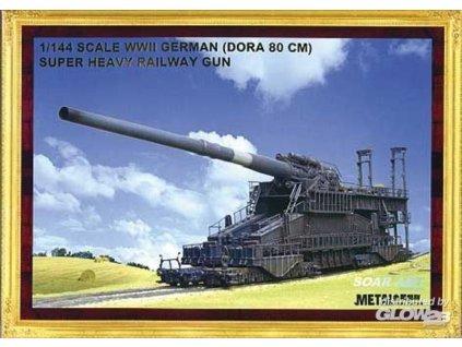 1/144  Railway Gun Dora 80 cm