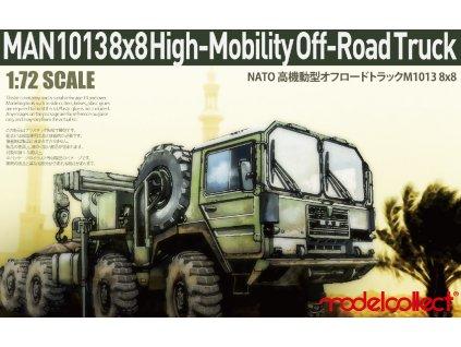 0006773 german man kat1m1013 88 high mobility off road truck