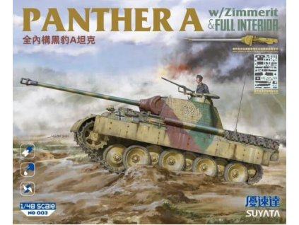 NO 003 Panther A with Zimmerit & Full Interior
