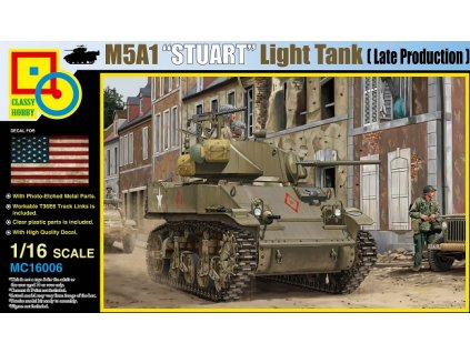 MC16006 M5A1 Stuart (Late production)