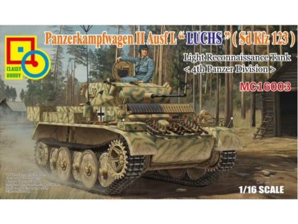 CLS16003 Panzer II Ausf. L Luchs 4. Pz.Div.