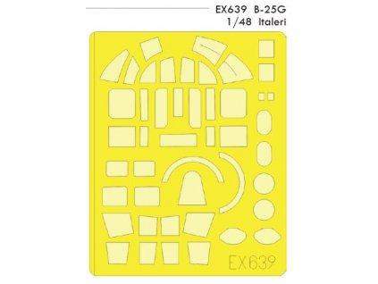 EDUEX639 B 25G Italeri 1 48
