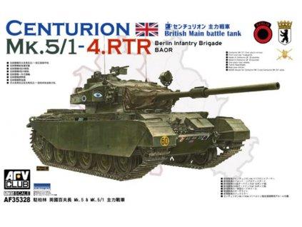 AF35328 British MBT Centurion MK.5 1 4.RTR Berlin Infantry Brigade (BAOR)