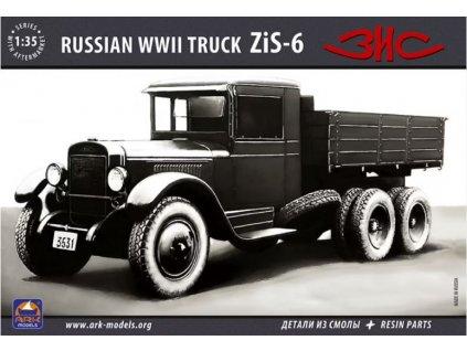 35036 Russian WWII Truck ZiS 6