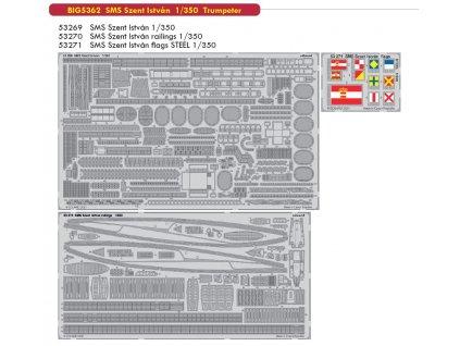 BIG5362 SMS Szent István 1 350 Trumpeter