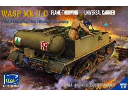 RV35039 Wasp Mk.IIC Flame Throwing Universal Carrier