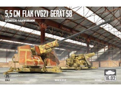 VK35001 5,5cm Flak (VG2) Gerät 58 Automatische Flugabwehrkanone