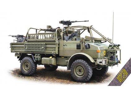 1/72 4x4 Unimog for long-range Patrol Missions JACAM