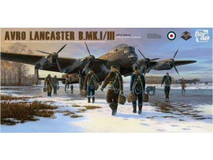BF010 Avro Lancaster B.Mk.I III with full interior