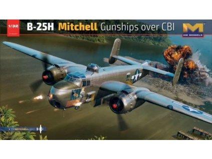 01E037 B 25H Mitchell Gunships over CBI