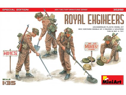 1/35 Royal Engineers. Special Edition