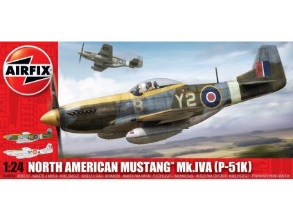 Classic Kit letadlo A14003A - North American Aviation P-51K/RF Mustang (1:24)